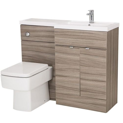 Elite Driftwood 1100mm Combination Furniture Pack - Right Hand